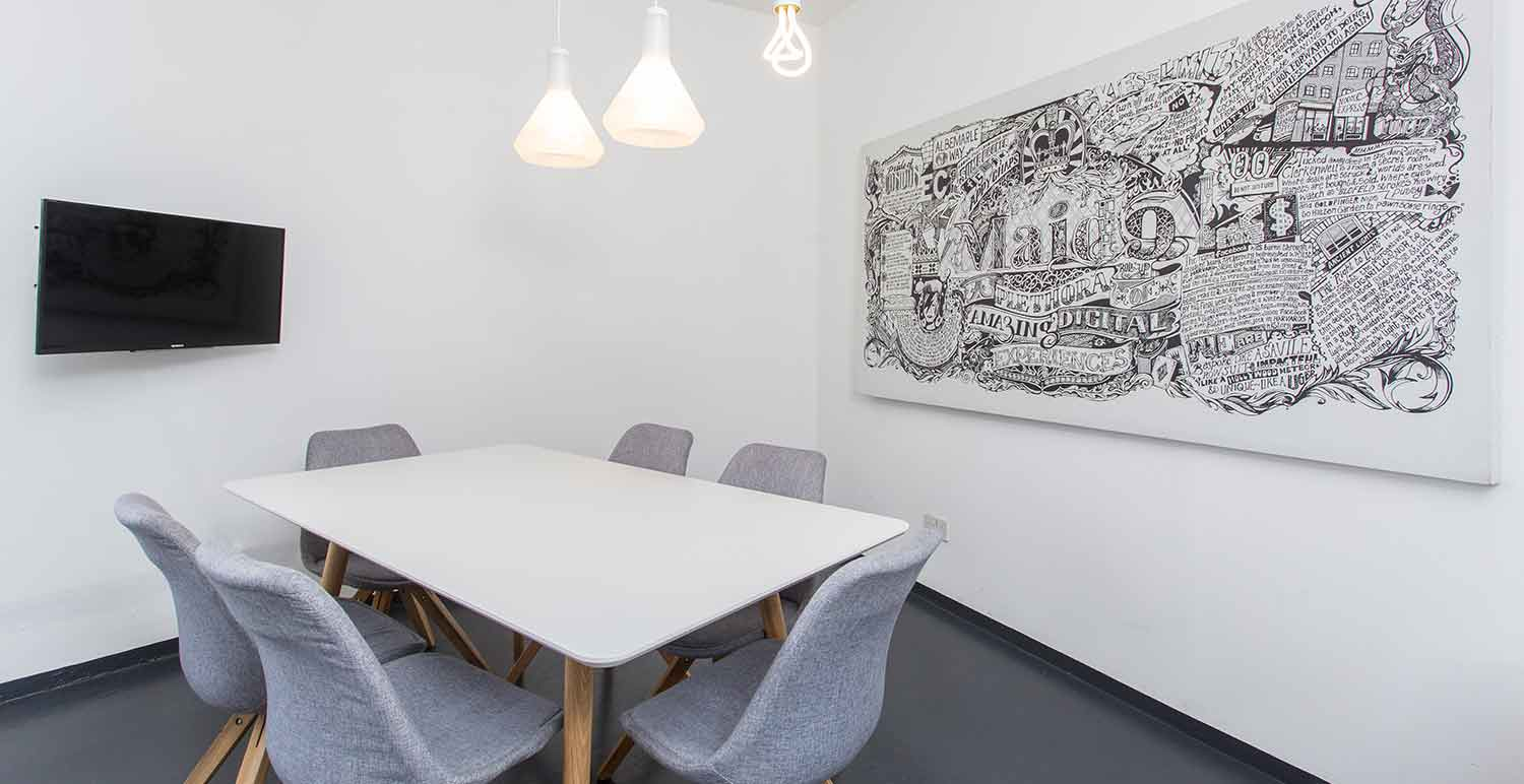 Office space in Shoreditch