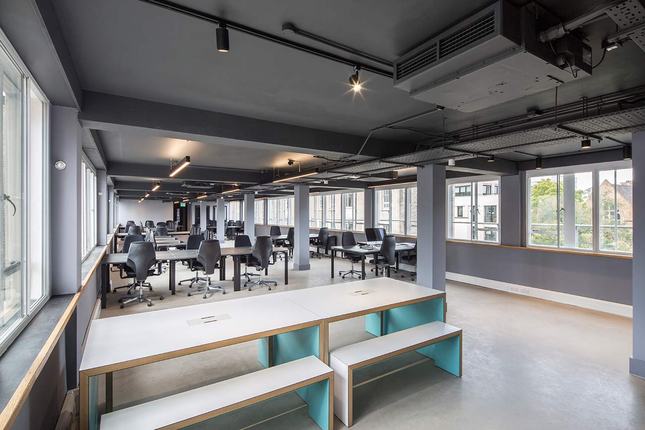 Large flexible office space near old street