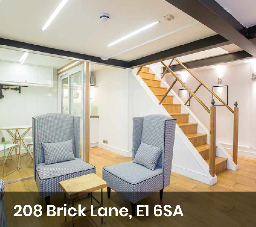 Office space on Brick Lane