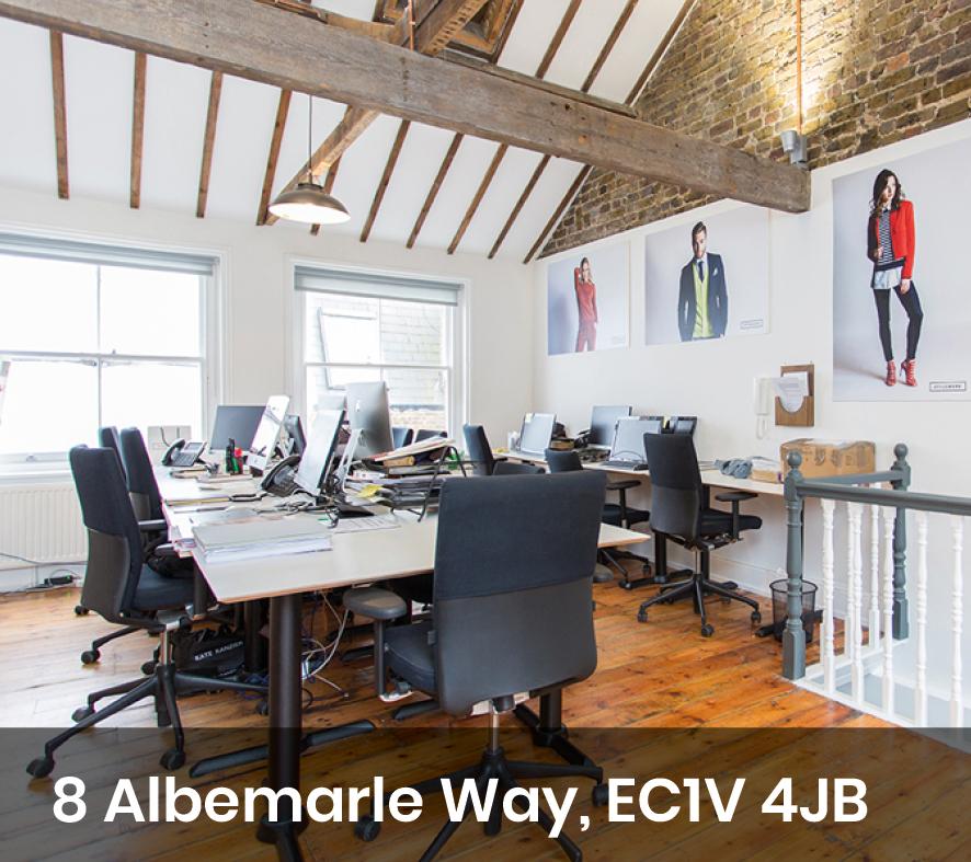 Albemarle way office space in Clerkenwell