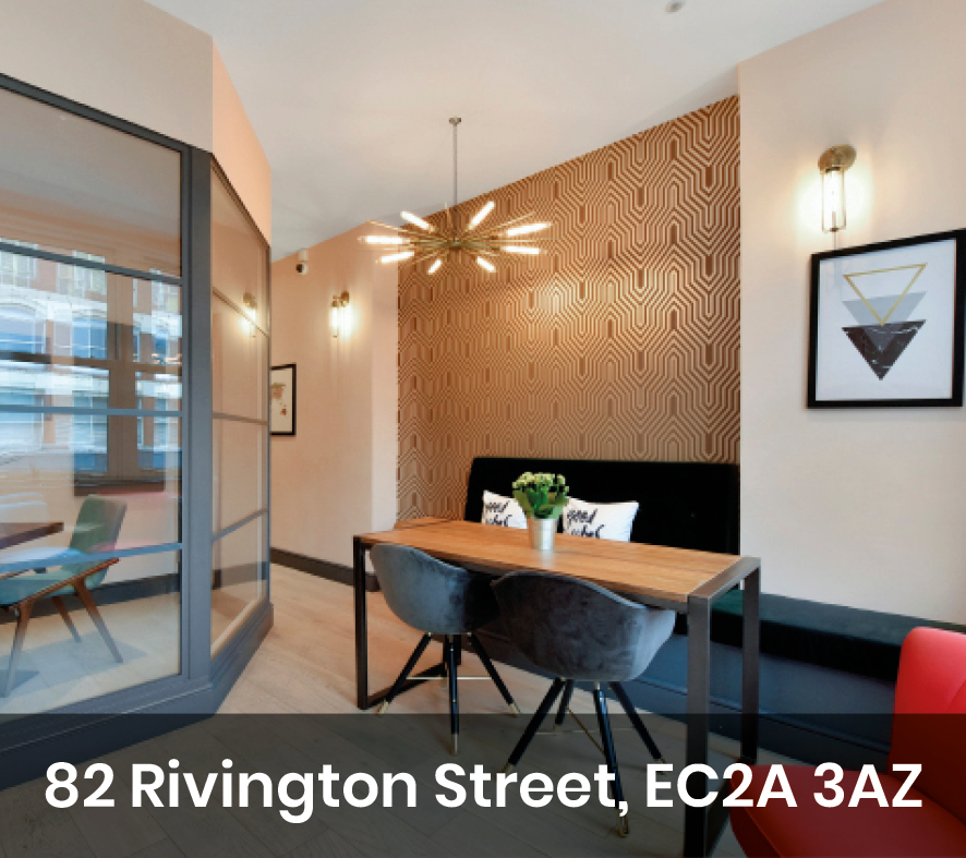 Office space on Rivington Street in Shoreditch