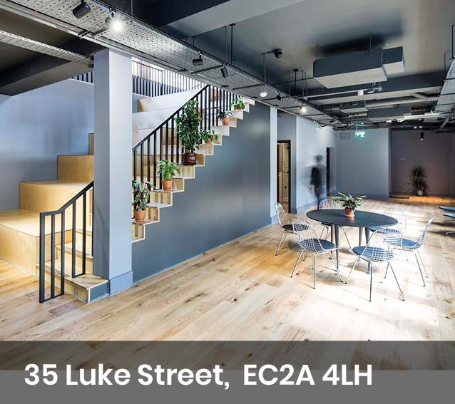 Communal area at 35 Luke Street