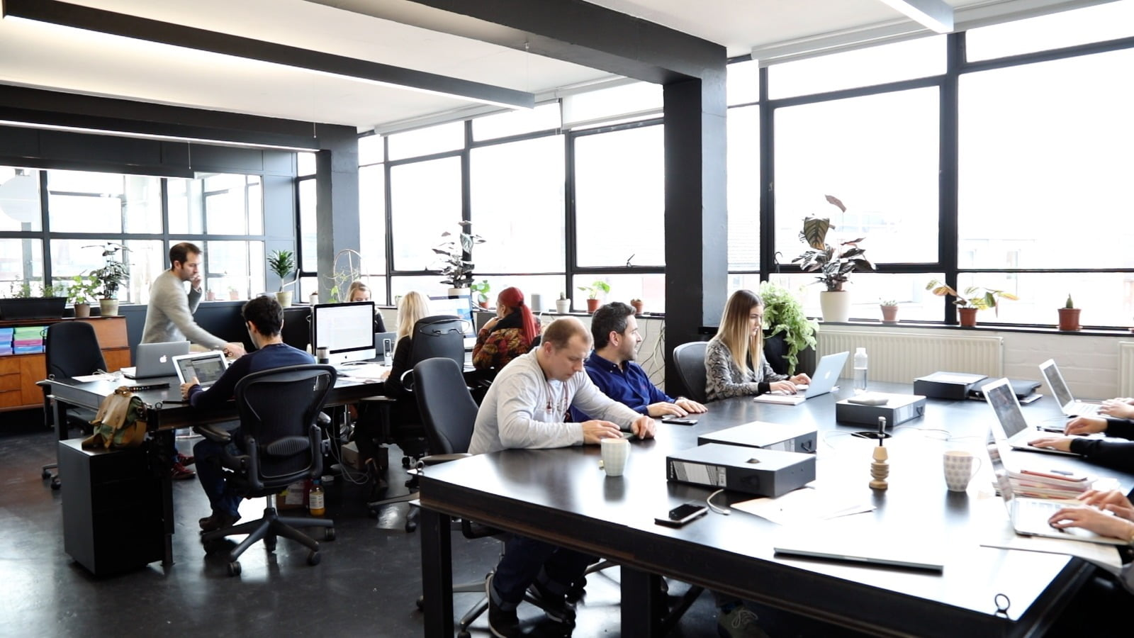 Tech startup office space London - Club Row, Shoreditch
