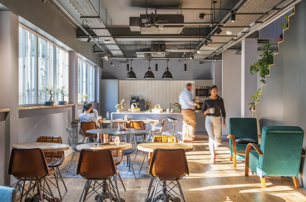 Canvas Offices - Office Space to rent London - Luke Street