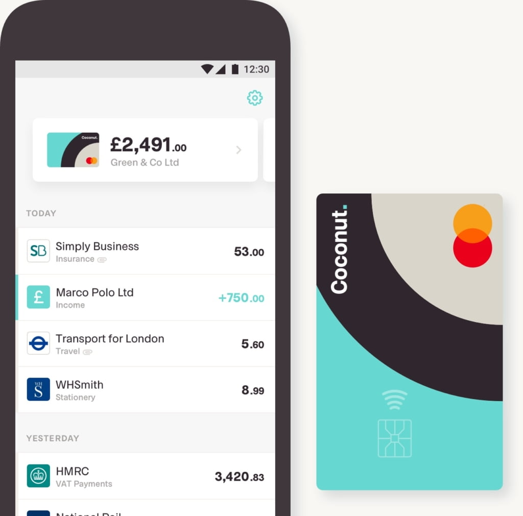 Rising Starts - Fintech Startups in London - Coconut