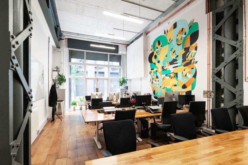 Best Offices in London - Old Street - Corsham Street
