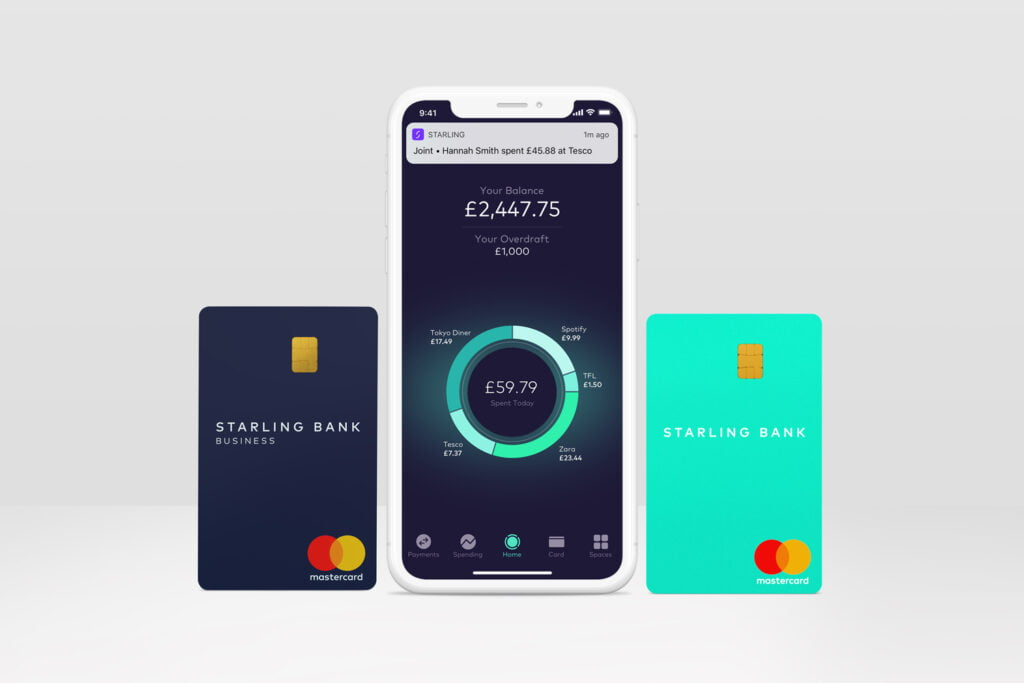 Big Fintech Startups in London - Starling