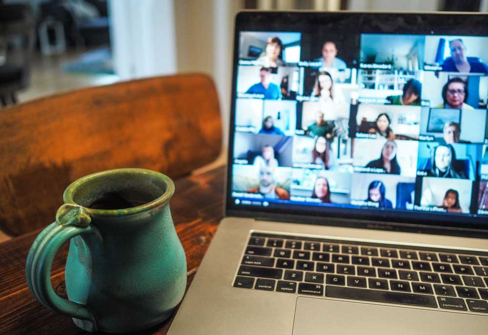 Will virtual meetings replace the physical office?